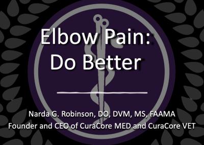 C.A.T – Episode 6. Elbow Pain: Do Better.