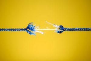 tearing rope