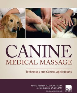 Canine massage techniques book