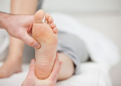 foot medical massage