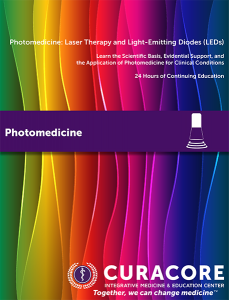 CuraCore Photomedicine Brochure Cover Thumbnail 8-2016-1
